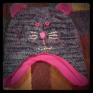 Other - GOOD CONDITION kid's gray Cat Hat